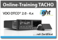 Preview: Online Tacho-Training: DTCO 4.0 E-Code (1x)